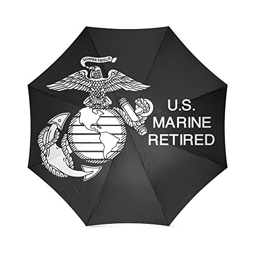 New Year Gifts/Christmas Day Gifts USMC Marines 100% Fabric And Aluminium High-quality Umbrella by USMC Umbrella