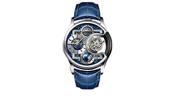 Amazon.com: Memorigin Watch Tourbillon Imperial Stellar Series White Gold US: Watches