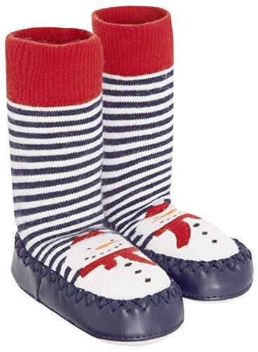 JoJo Maman Bebe Slipper Socks (Baby