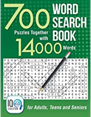 Word Search Book: 700 Puzzles Together with 14000 Words - for Adults, Teens and Seniors
