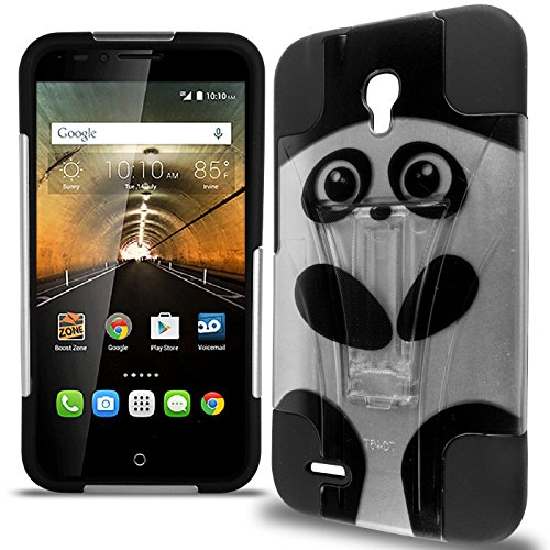 OneTouch Go Play Case, One touch Conquest Case, CoverON Dual Defense Rugged Dual Layer Design Tough Protective Phone Cover Case for Alcatel One Touch Go Play / Conquest - Cute - Tombile Phones