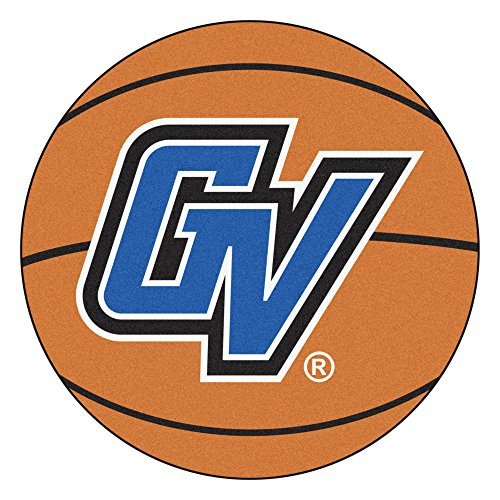 NCAA Grand Valley State University Lakers Basketball Shaped Mat Area Rug ()