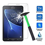 Galaxy Tab A 10.1 Screen Protector (SM-T580 ONLY), NOT for S Pen Version, [Tempered Glass] [Bubble-Free] [Repeatable Installation] Glass Screen Protector for Samsung Galaxy Tab A 10.1