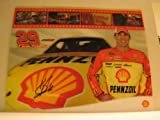 Kevin Harvick - NASCAR - Racing Photo Card (8.0 in. x 10.0 in.) (Sprint - Car #29 / Shell / Pennzoil)