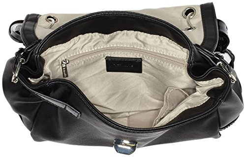 ... TamarisJAYA Handbag - Bolsa de Asa Superior Mujer Schwarz (black comb)  ...