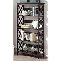 Convenience Concepts Oxford 5-Tier Bookcase, Espresso