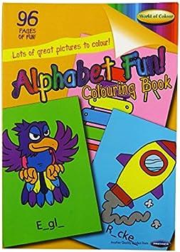 Color me Coloriage éducatif A4 Alphabet Livre de Coloriage