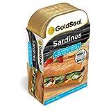 Gold Seal Sardines in Spring Water 125 Gram 12-pack