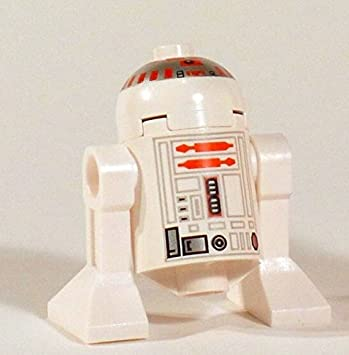 New Lego Star Wars R5 D4 Minifig Red Astromech Droid Minifigure 7658 ...