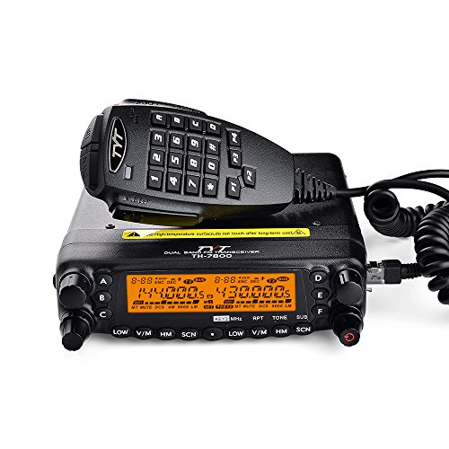 - TYT TH-7800 50W Dual Band Dual Display Repeater Car Truck Ham Radio
