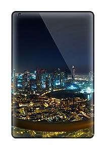 Hot Tpu Cover Case For Ipad/ Mini 3 Case Cover Skin - Spectacular Dubai City View 5993355K68211658