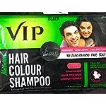 VIP 3 In 1 Hair Colour Shampoo (40 Ml) PACk Of 6