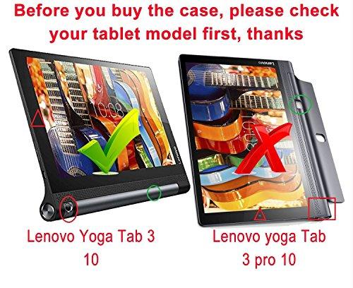 IVSO Premium Protector de Pantalla de Vidrio Templado para Lenovo Yoga Tab 3 10.1-Inch Tablet (Tempered Glass - 1 Pack)