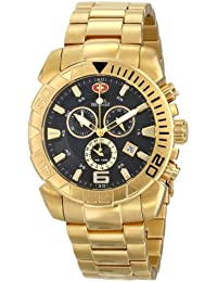 Men's SP13123 Recon Pro Gold-Tone Stainless Steel Watch