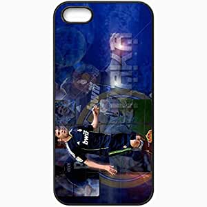 Personalized iPhone 5 5S Cell phone Case/Cover Skin 2013 soccer ricardo kaka Black