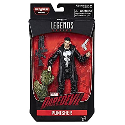 Marvel Knights Legends Series Punisher, 6-inch: Toys & Games