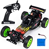 SGILE RC Car - High Speed Remote Control Car Toy, 2.4Ghz Rechargeable Racing Buggy Truck Climber, Fast Electric Crawlers Off-Road Rock Vehicle Drift Runners Monster, Gift for Kids Adults (C - 1:16 - 20KM/H)