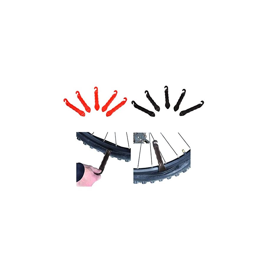 Luckycyc 5Pcs Bicycle Tire Lever Bike Tire Repair Tool