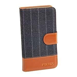 PEDEA 50160023 funda para teléfono móvil - fundas para teléfonos móviles (1 pieza(s)) Negro, Marrón