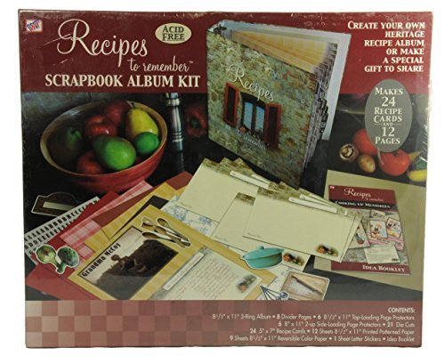 Scrapbook Album Kit Recipes to Remember by Westrim