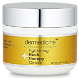 tighten Skincare Tightening Neck Therapy Cream for Face | Anti-Aging Lotion | Helps to Firm & Tighten Loose Sagging Skin Smooth Wrinkles & Fine Lines | More Youthful Neck and Chest | 2 fl oz/60 ml