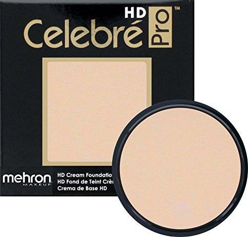 Mehron Makeup Celebre Pro-HD Cream Face & Body Makeup, LIGHT 1 (0.9 oz) (Stage Lt1)