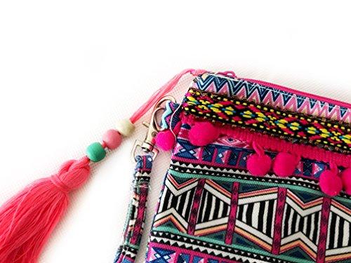 Ibiza Hippie Bolso de embrague - Pure Ibiza - multicolor