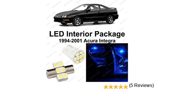 Amazon.com: Splendid Autos Ultra Blue LED Acura Integra Interior Package  Deal 1994   2001 (6 Pieces): Automotive