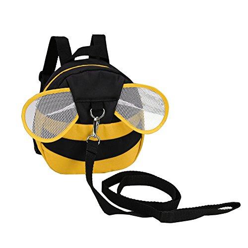 Zicac Baby Toddler Cute Bee Walking Safety Harness Rucksack Backpack Bag...