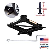 Car Scissor Jack Lift Leveling with Crank Handle Roadside Emergency for Honda Civic/Accord/CR-V/Element/Odyssey/Fit/Pilot - Best Reviews Guide