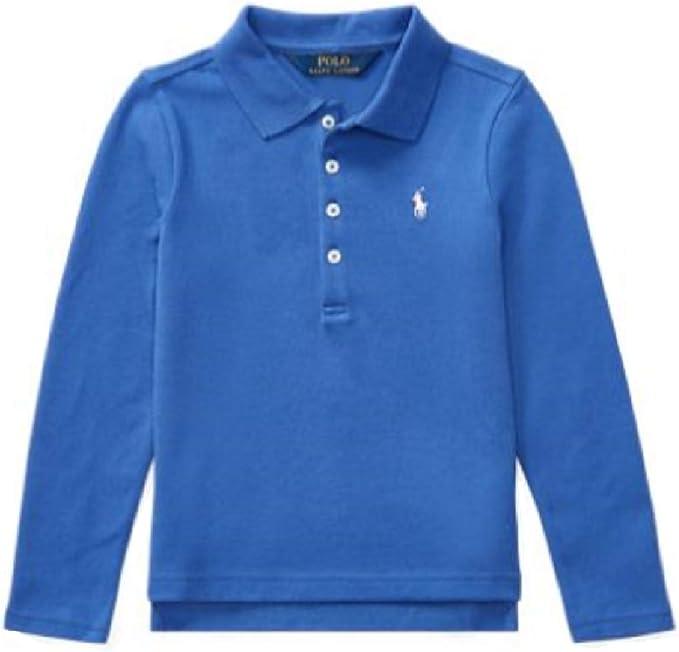 Ralph Lauren Girls Mesh//Elastane Polo Shirt
