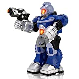 super robot toy - Super Android Robot Toy for Kids with Space Blaster, Grip Claw Hand, Lights & Sound