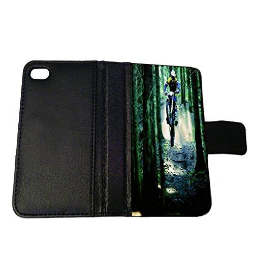 Motorcross Leather - Motorcross - iPhone 6 Leather Wallet Case