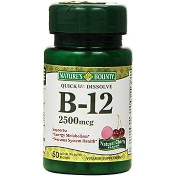 Nature S Bounty Sublingual Vitamin B Reviews