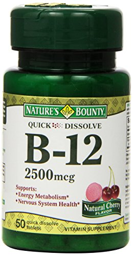 Natures Bounty Sublingual Vitamin 2500mcg