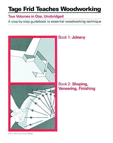 Tage Frid Teaches Woodworking, Book 2: Shaping, Veneering, Finishing (Bk. 2)