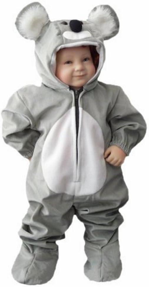 J42 Tamaño 12-18 meses traje koala Para Los Bebés y Niños pequeños, Comodo de Llevar en La Ropa normales