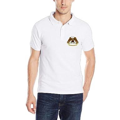 048f2b13d POLOPIN Scottish Rite Freemasonry Men's Classic Polo Shirt Quick-Dry Golf  Polo Shirt at Amazon Men's Clothing store: