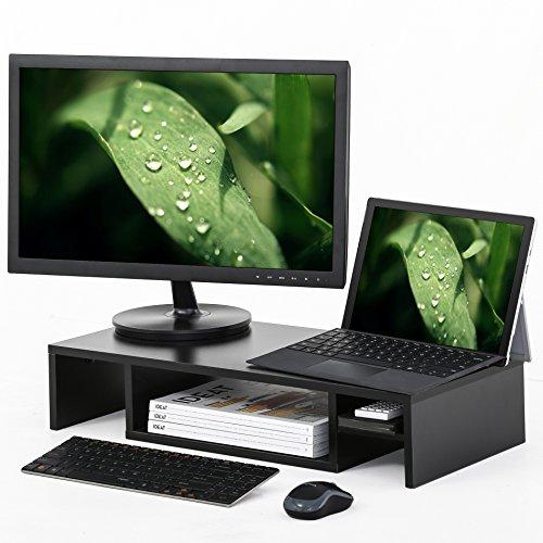 FITUEYES Adjustable Monitor Organizer DT306001WB G