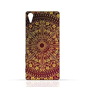 Sony Experia XA Ultra TPU Silicone Case with floral pattern 1201