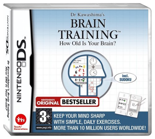 Brain Age: Train Your Brain in Minutes a Day! (Video Games For Adults)