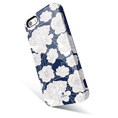 iphone-5-5s-se-case-floral-akna-new-glamour-series-flexible-soft-tpu-cover-with-fabulous-glossy-patt