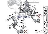 BMW Mini Genuine Brake Pedal Rubber Pad Cooper S
