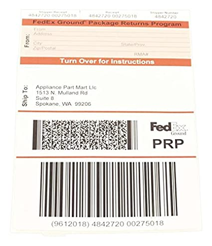 Amazon Delonghi Prp Spokane Return Service Label Home Improvement