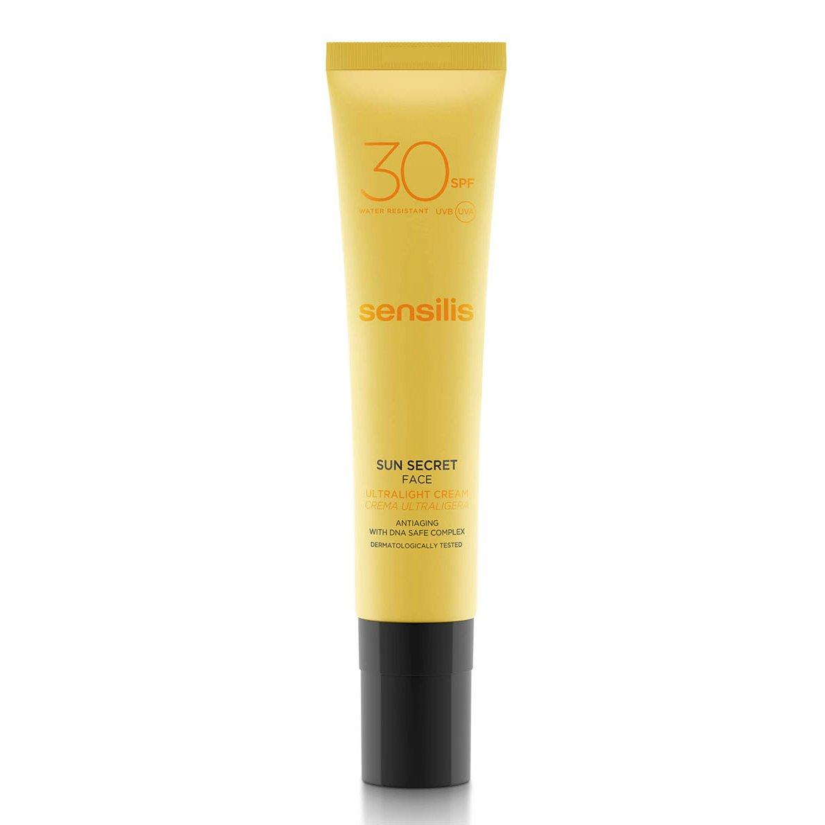 Sensilis Sun Secret Crema Ultraligera Protector Solar Facial SPF30-40 ml DERMOFARM D30022990