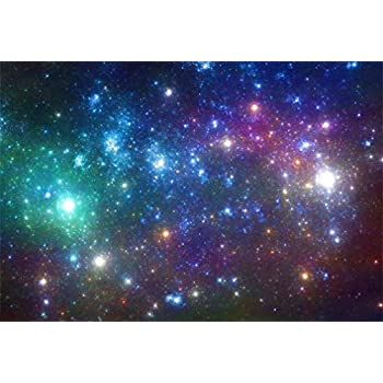 266e2309324e3 AOFOTO 6x4ft Outer Space Nebula Backdrop Science Fiction Galaxy Cosmos  Milky Way Universe Night Aerospace Starry Sky Photography Background Photo  ...