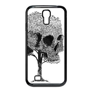 Skull Tree Custom Durable Hard Plastic Case Cover LUQ249331 For SamSung Galaxy S4 I9500