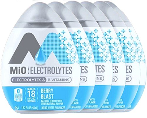 Mio Electrolytes Berry Blast B Vitamins Liquid Water Enhancer 1.62 fl oz (6)