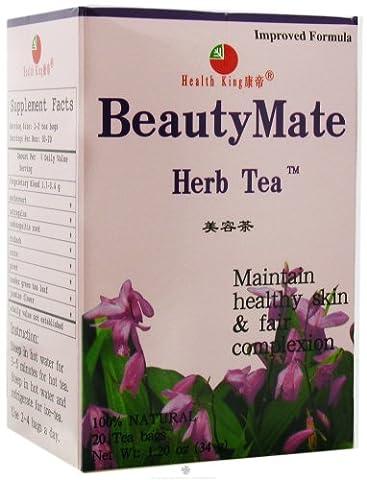 Health King Beauty Mate Herb Tea 20 Tea Bags - Health And Beauty