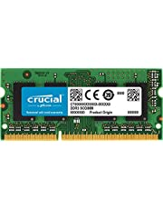 Crucial CT102464BF186D  8Go (DDR3L, 1866 MT/s, PC3-14900, SODIMM, 204-Pin) Mémoire